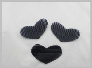 Baby Girls Touch Tape Hook And Loop Hair Clips,Hair Accessories,Heart Shape