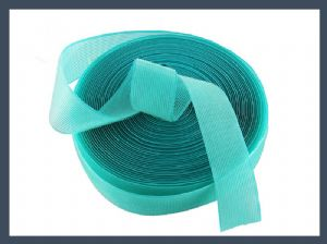 China factory product hair band hook & loop adhesive velcro tape roll, green