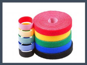China made 10 mm20mm back to back hook and loop cable tie buy velcro,colours
