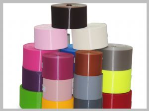 Colours injection hook black velcro roll can be customized