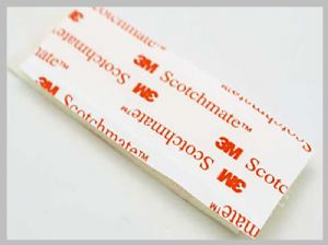 Custom Die Cutting 3m Glued Adhesive Hook And Loop Tape 20mm 38mm 50mm Width