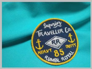 Customized Silk / Nonwoven label Embroidered Uniform Patches Military Hat Patches
