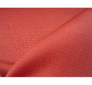 Dobby polyester cotton stretch fabric with elasticity for apparel AWF-034