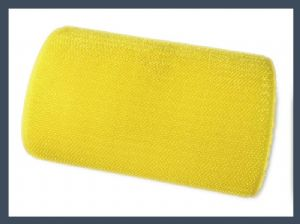 Good quality un-napped loop (short hair) hook and loop velcro hook only,yellow