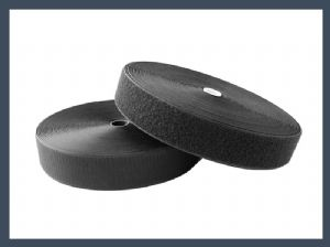 High qualite glove polyester hook and loop fastener hook and loop sanding discs,black and white