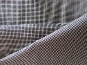 Interweave bicolor plaid cloth SF-022