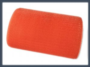 Manufactures products un-napped loop (short hair) hook and loop velcro one wrap roll,orange