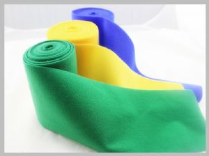 Medical Nylon Loop Fabric , Adhesive Heat and fire retardant nylon One Sided