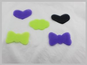 Multicolored Nylon Hook Loop Hair Holder Or Hair Decoration With Heat Resistant