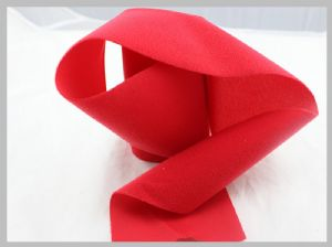 Red Display Soft Hook And Loop Fabric Wide Arrange For Medical Industry