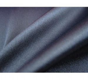 Satin polyester stretch fabric with excellent elasticity for apparels PSF-012