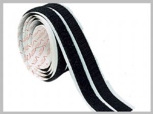 Strong stick power 3M hook and loop fastening velcro tape 1 inch with adhesive backing