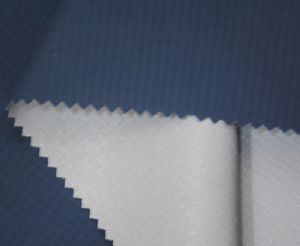 TPU milky Composite breathable membrane nylon fabric OFF-007