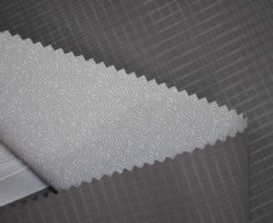 TPU milky  composite breathable membrane nylon fabric OFF-008