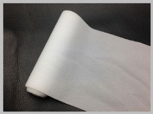 White Thin customized Nylon Loop Fabric Wide Reclosable Fastener With Hook