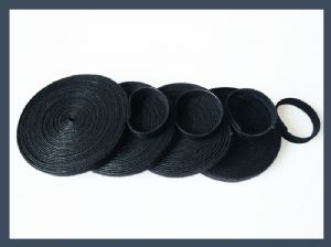 10 mm 20mm back to back hook and loop cable tie velcro roll