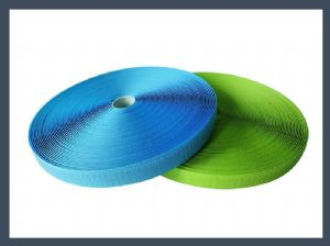 cheap wholesale 70%nylon 30%polyester blended hook and loop double velcro tape,colours