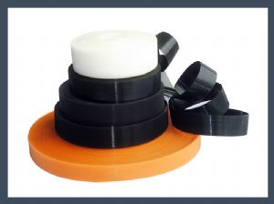cold-resistant nylon injection hook, fine single hook thin velcro tape