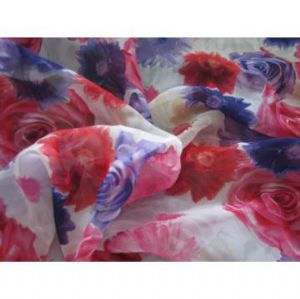 100% polyester chiffon fabric with printing fashionable SF-036